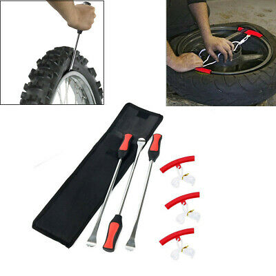 3pcs//set Motorcycle Bicycle Tire Changing Levers Spoon Tire Iron Kit Tire Changi