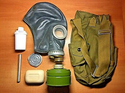 Survival kit during a nuclear disaster. (dosimeter, gas mask, water filter, etc)
