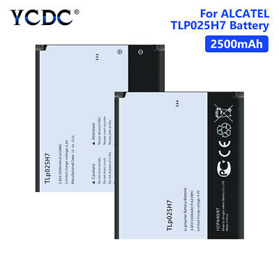 High Quality Tlp025H1 Tlp025H7 2500Mah Battery For Alcatel One Touch Pop 4 86F0