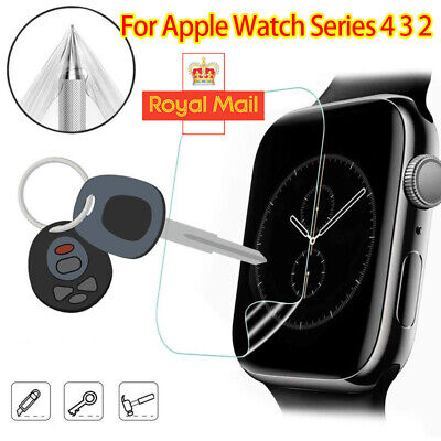 Full Hydrogel Film Screen Protector For Apple Watch 4 3 2 iWatch 38-44mm UK