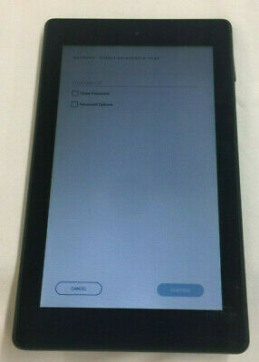 Amazon Fire 7 (9th Generation) 16GB, Wi-Fi, 7in - Black  10-4A