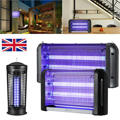UV Light Mosquito Killer Insect Grill Fly Zapper Bug Electric Trap Catcher Lamp