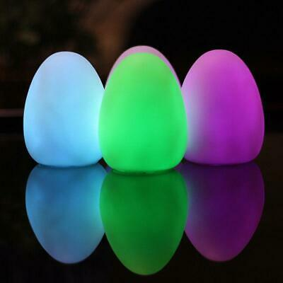 mini Visual Self Changing Color Egg Stim Autism Special Need Multi Sensory toysD