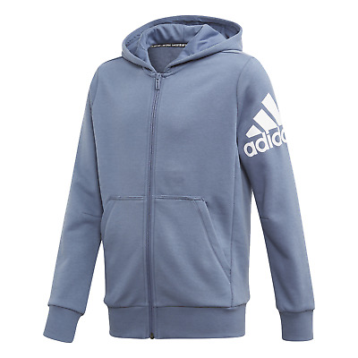 adidas Performance Kinder Freizeit Sport Jacke Must Haves BOS Jacke blau