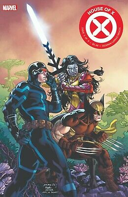 House of X #1 Summit Yardin Variant 1st Rasputin one week before Powers of X #1