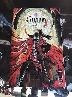 Spawn #300 Cover G J Scott Campbell Todd McFarlane Image Comics