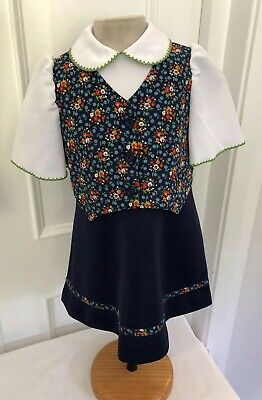 Vintage 1970's Mothercare Dress Age 1/2 Years