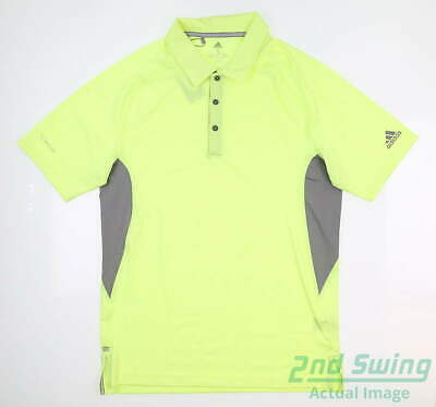 New Mens Adidas Ultimate Climacool Block Polo Small S Multi DT3594 MSRP $75