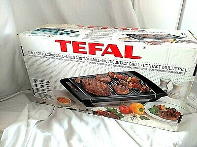 Tefal Table Top Electric Grill With Adjustable Cooking Temperature