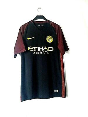 Mens Manchester City Away Shirt Size Medium Nike