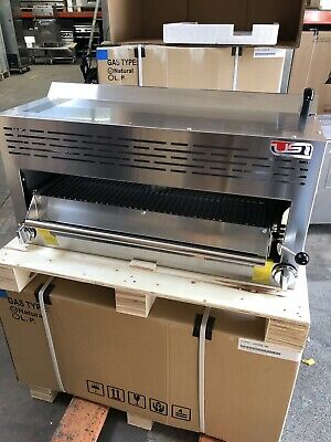 "36"" Commercial Infra Red Gas Salamander Broiler"