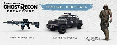 GHOST RECON BREAKPOINT - Sentinel Corp Pack (PS4 /XBOX/ PC)
