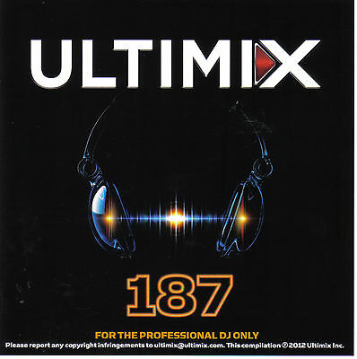 Ultimix 187 LP One Direction Carly Rae Jepsen One Republic Imagine Dragons