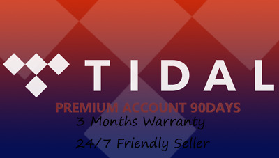 Tidal premium for 6 months (personal account Not Shared) worldwide fast Delivery