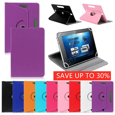 """Universal Leather Tablet Case Protect Cover For 7"""" 8"""" 9"""" 10.1"""" Android Tablet PC"""