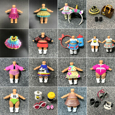 200+ Real Outfit Dresses clothes LOL Surprise Dolls Big Sisters Replacement toys
