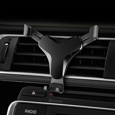 Universal Gravity Adjustable Car Air Vent Holder Cell Mobile Phone Mount Cradle