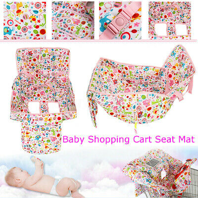Baby Kid Shopping Trolley Cart Cover Seat Child High Chair Protective Pads Mat