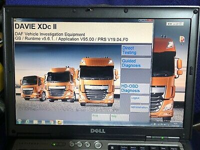 2019 Newest DAF Davie Runtime 5.6.1 for paccar and DAF+Expire Fix 302.00 key