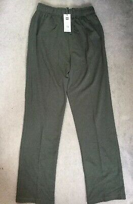 """M/&S BLACK SWEATPANTS JOGGERS IN COTTON RICH WITH STRETCH FABRIC W30-32/"""" BNWT"""
