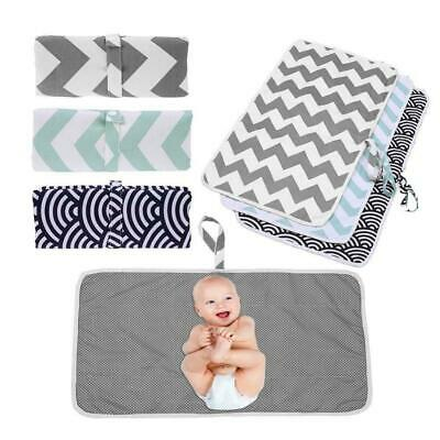 Large Baby Portable Foldable Waterproof Travel Nappy Diaper Changing Mat 60x35cm