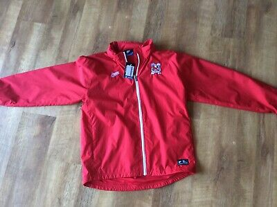 Darlington Fc  Red Avec Jacket Size Large New With Tags