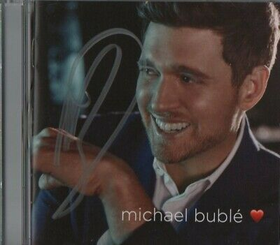 Michael Buble Hand Signed Autograph Cd 2018 Reprise Records Music