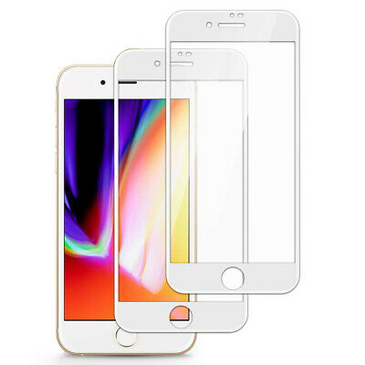 For iPhone 8 7 6S 6 Plus Caseswill FULL COVER 9D Tempered Glass Screen Protector