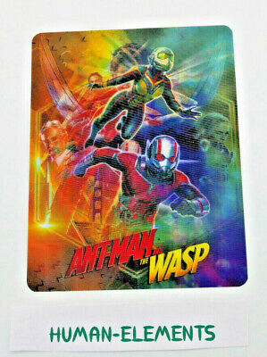 ANT-MAN AND THE WASP - Lenticular 3D Flip Magnet Cover FOR bluray steelbook