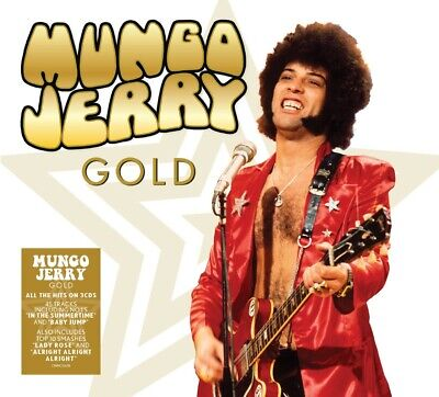 MUNGO JERRY GOLD 3 CD SET (56 TRACK COLLECTION) (Released 2019)