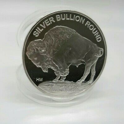 Indian/buffalo Silver Coin 1oz Bullion