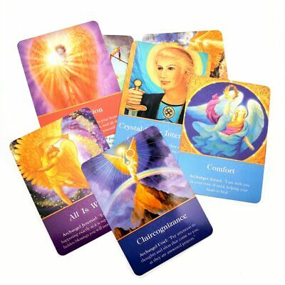 Magic Archangel Oracle Cards Earth Fate Wisdom Energy Tarot Card 44-53Card Deck