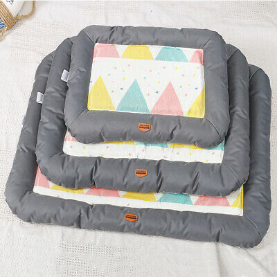 Pet Dog Cat Cooling Mat Sleeping Bed Summer Heat Relief Comfortable Cushion Pad