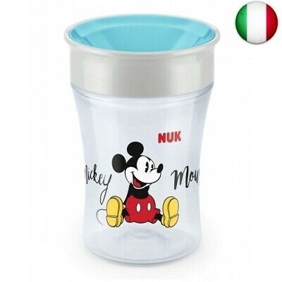Nuk 10255403 Magic Cup Mickey Mouse, 230 Ml, 8+ Mesi Mickey Mouse (Mickey Mouse)