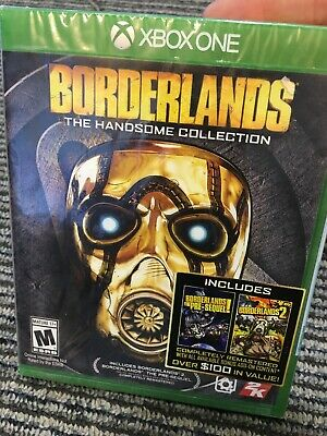 Borderlands: The Handsome Collection (Microsoft Xbox One, 2015) Brand-New Sealed