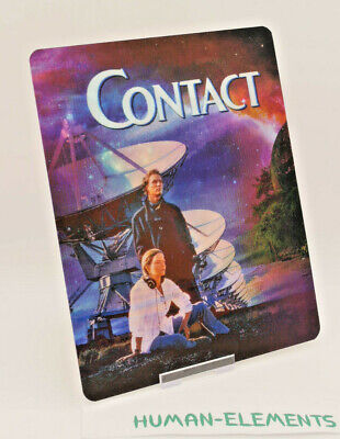 CONTACT - Lenticular 3D Flip Magnet Cover FOR bluray steelbook