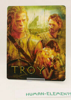 TROY - Lenticular 3D Flip Magnet Cover FOR bluray steelbook