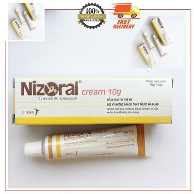 Tube Nizoral 2% Cream 10g Treatment For Fungal Infections Of The Skin US Stock