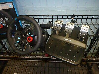 Logitech G29 Driving Force Steering Wheel & Pedals For Ps4/Ps3