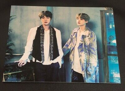 BTS Official - 5th Muster / Magic Shop [Suga/Yoongi & Jin] Pop Up Card SEOUL