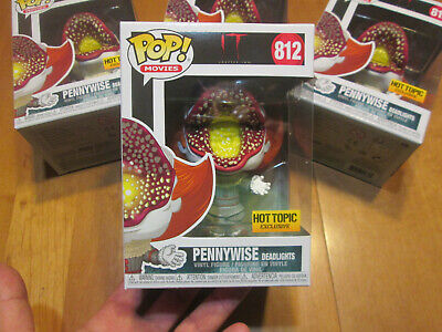 Funko Pop It Chapter Two Pennywise Deadlights # 812 Exclusive Hot Topic 2019