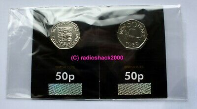 Jersey and Guernsey celebrate the 50th Anniversary of the 50p