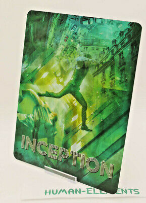 INCEPTION - Lenticular 3D Flip Magnet Cover FOR bluray steelbook