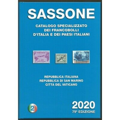 Sassone 2020 / Catalogo Francobolli Volume 2 Nuovo Mf29714