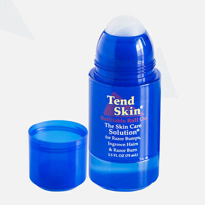 Tend Skin Refillable Roll On Refillable Ingrown Hair Treatment Men Women 75ml