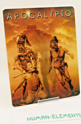 APOCALYPTO - Lenticular 3D Flip Magnet Cover FOR bluray steelbook