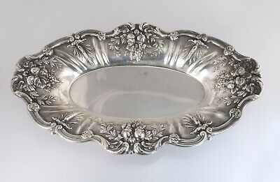 Reed & Barton Francis I Sterling Silver Bread Tray Serving Plate X568 445.8g