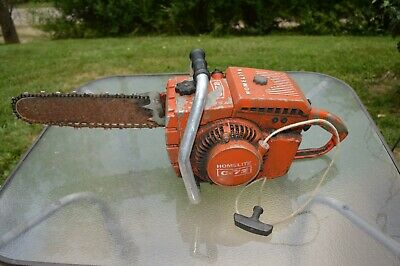 "HOMELITE SUPER 2 Chainsaw, 16""  For Parts or Repair"