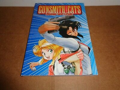 3 NEW Manga Graphic Novel Comic Book Gunsmith Cats Burst Vol
