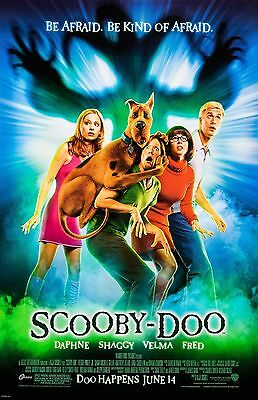 "Scooby Doo movie poster (b)  -  11"" x 17"" inches - Sarah Michelle Gellar"